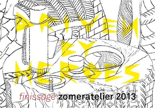 finissage zomeratelier 2013